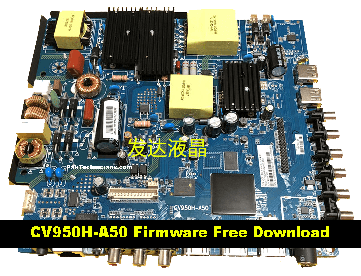 CV950H-A50 Firmware Free Download
