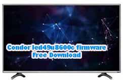 Condor led49u8600c firmware Free Download
