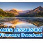 HAIER LE55Q6500U Firmware Free Download