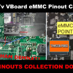 Led Tv Board EMMC Pinout Collection