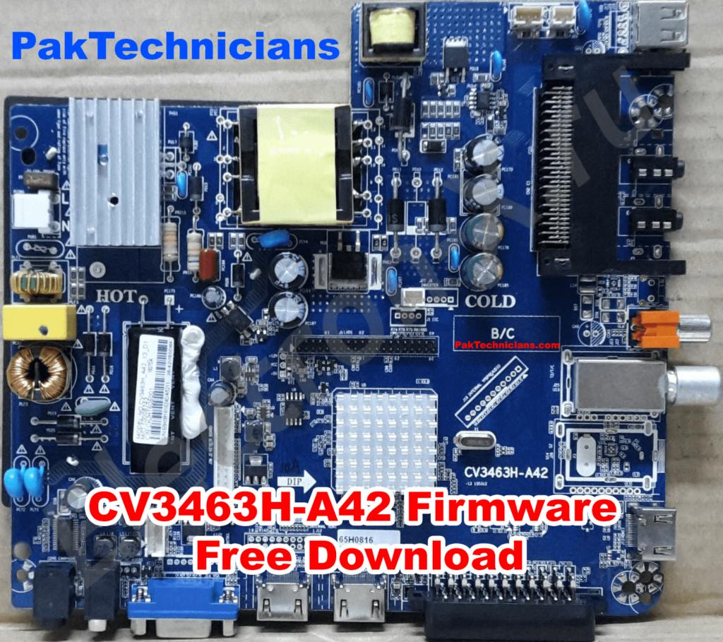CV3463H-A42 Firmware Free Download