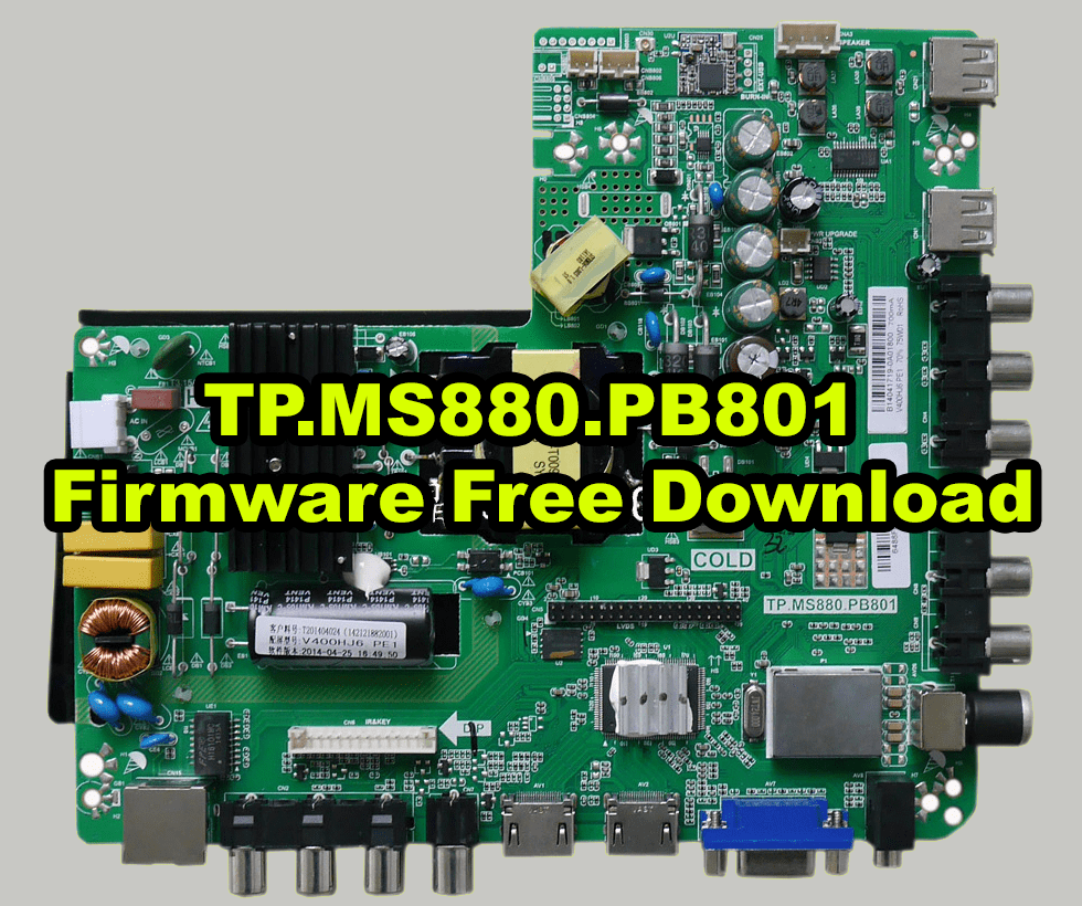 TP.MS880.PB801 Firmware Free Download