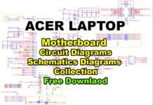 Acer Laptop Motherboard Circuit/Schematics Diagrams