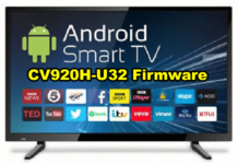 CV920H-U32 Firmware Free Download