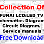 FUNAI LCD/LED TV Schematics Diagram