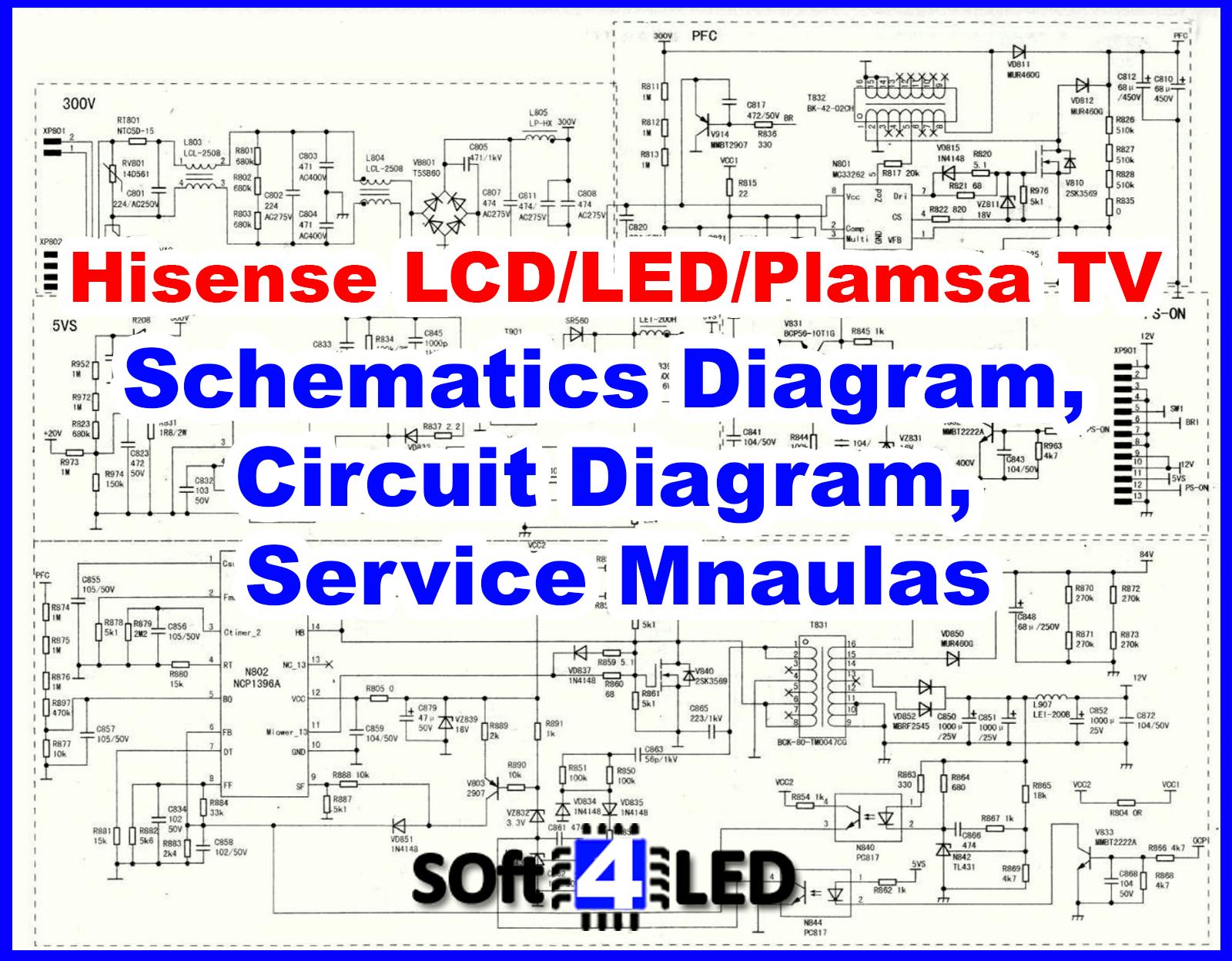 Hisense Lcd  Led  Plasma Tv Schematic Diagram  Circuit