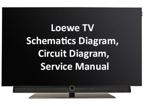 Loewe TV Schematics Diagram