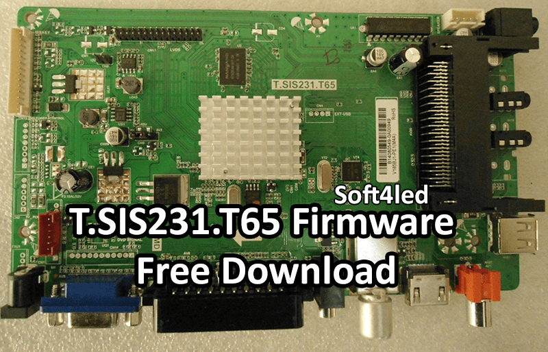 T.SIS231.T65 Firmware Free Download