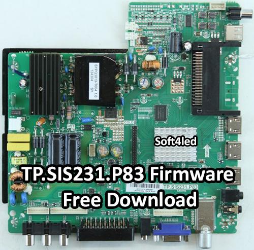 TP.SIS231.P83 Firmware Free Download