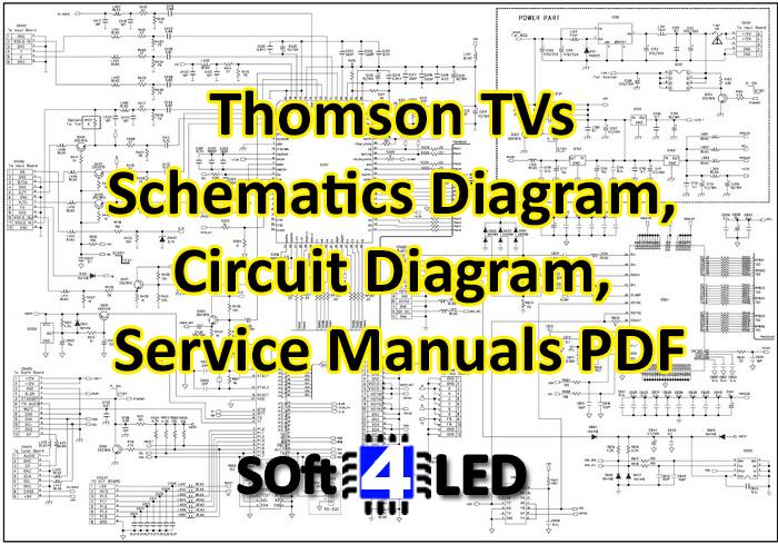Thomson TVs Schematics Diagram