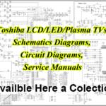 Toshiba LCD LED TV Schematics Diagram