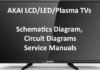 AKAI LCD/LED/Plasma TVs Schematics Diagram, Circuit Diagrams