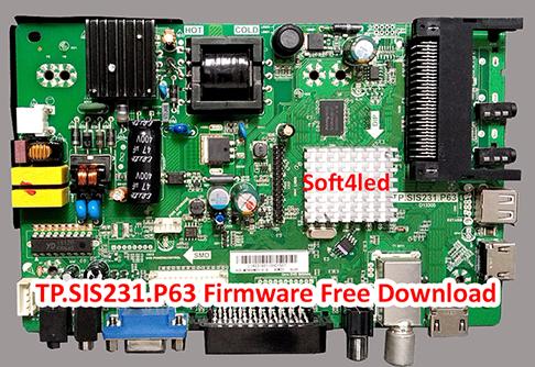 TP.SIS231.P63 Firmware Free Download