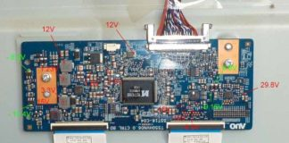 All LCD/LED TV T-CON Board Datasheet