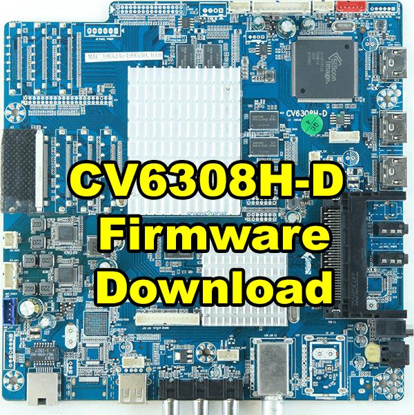 CV6308H-D Firmware/Software Free Download