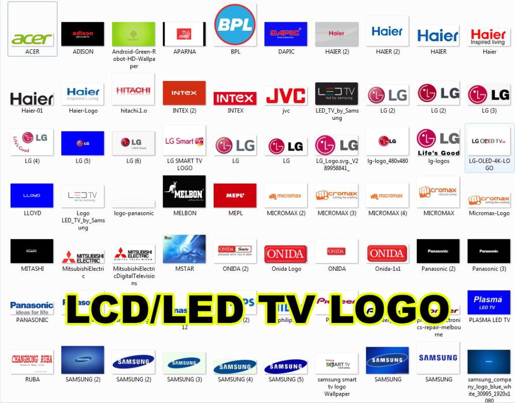 All LCD/LED TV LOGO Images