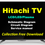 Hitachi TV Schematics Diagram