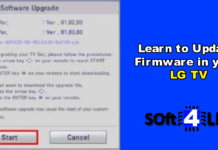 How to Update Firmware in LG TV PDF