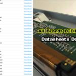 LCD/LED Panel Datasheet PDF
