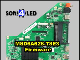 MSD6A628-T8E3 Firmware Download