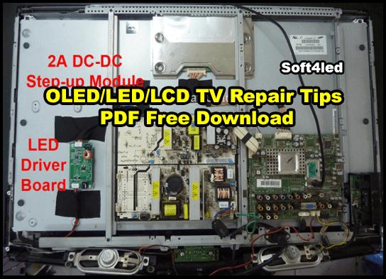 OLED/LED/LCD TV Repair Tips PDF Free Download