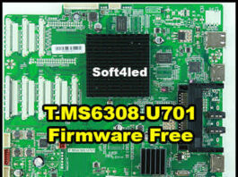 T.MS6308.U701 Firmware Software