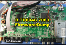 B.TD604C 7063 Firmware/Dump
