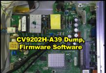 CV9202H-A39 Dump, Firmware Software