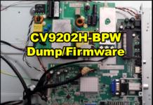 CV9202H-BPW Dump/Firmware