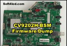 CV9202H-BSM Firmware/Dump Flash