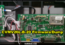CVMV26L-B-20 Firmware/Dump Free Download