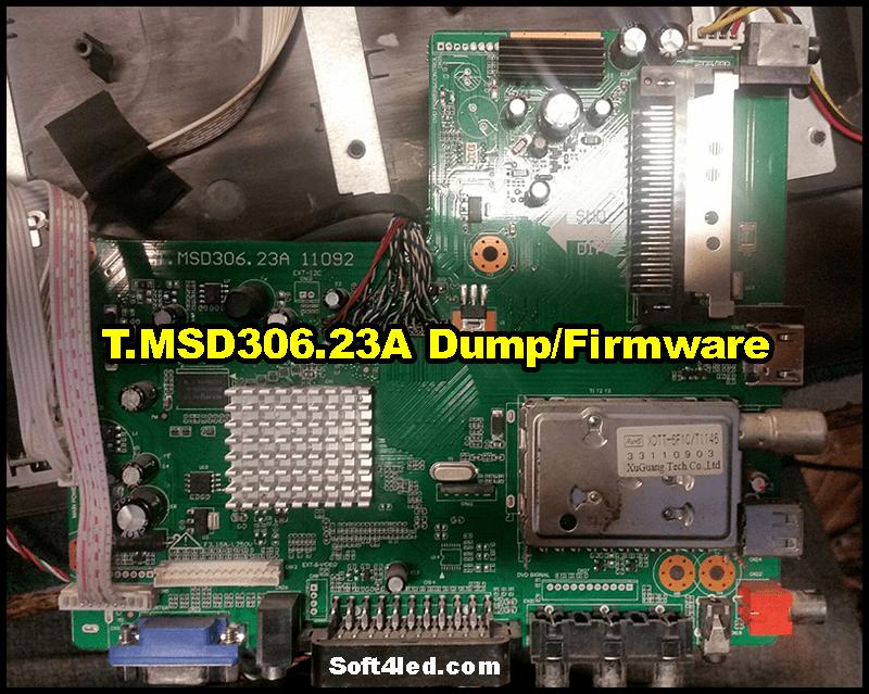 T.MSD306.23A Dump/Firmware
