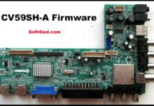 CV59SH-A Firmware/Dump Download