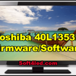 Toshiba 40L1353N Firmware/Software Download