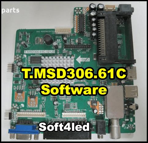 T.MSD306.61C Firmware, Dump Free Download