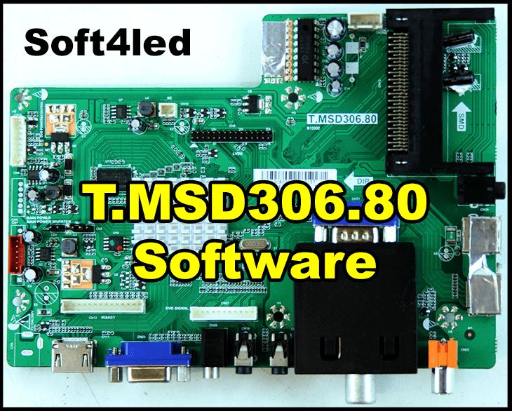 T.MSD306.80 Firmware, Dump Free Download